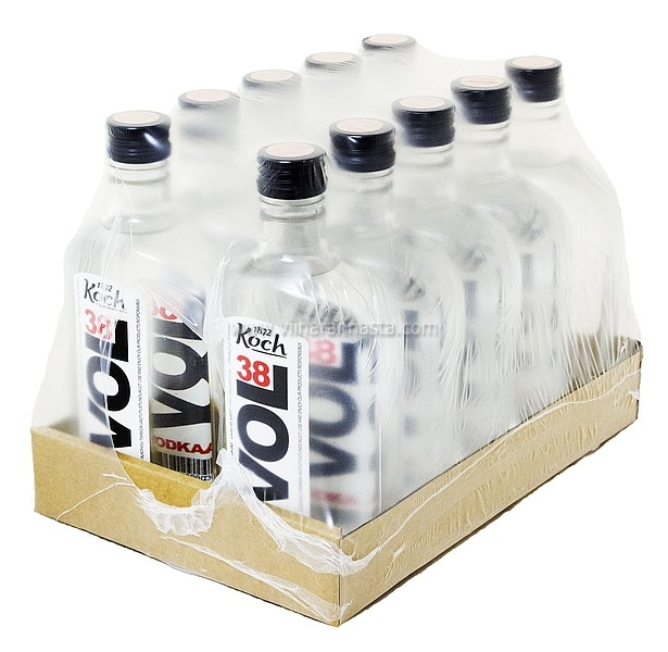 Koch Vol 38 Vodka 38% 10x50cl PET