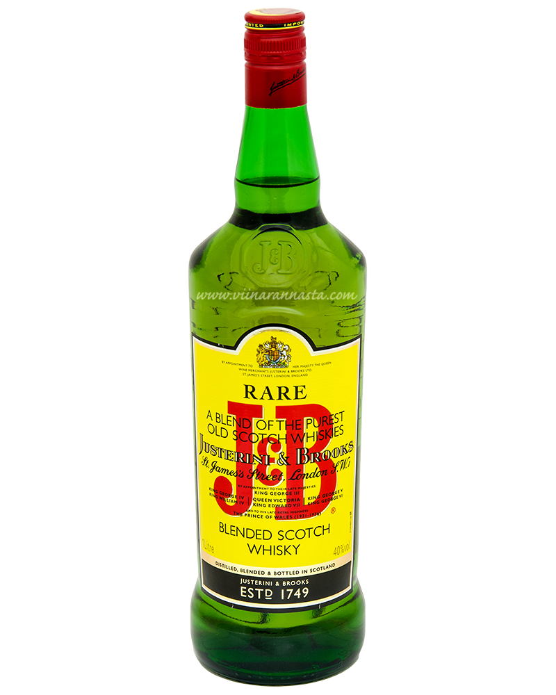 J&B Scotch Whisky 40% 100cl
